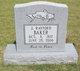 Johnny Rayford Baker