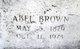 Profile photo:  Abel Brown Reel