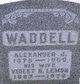 Violet Rebecca <I>Lemond</I> Waddell