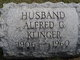 Profile photo:  Alfred G. Klinger