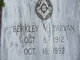 Profile photo:  Berkley V. Yaryan