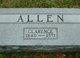 Profile photo:  Clarence Elias Allen
