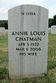Annie <I>Louis</I> Chatman