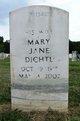 Mary Jane <I>Paulik</I> Dichtl