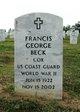 Francis George Beck