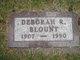 Profile photo:  Deborah Rena <I>Humphrey</I> Blount