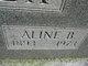 Profile photo:  Aline B <I>Holden</I> Cheek