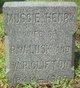 Margaret  'Muggie' B. <I>Henry</I> Clifton