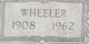 Wheeler Allen