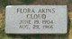 Flora <I>Akins</I> Cloud