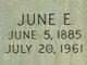 June E <I>Altman</I> Jones