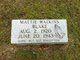 Mattie <I>Watkins</I> Blake