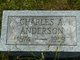 """Charles A. """"Charlie"""" Anderson"""
