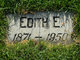 Profile photo:  Edith Elma Bates