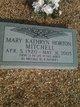 Mary Kathryn <I>Horton</I> Mitchell