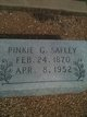 "Pickney Carrie Perella ""Pinkie G."" <I>Mitchell</I> Safley"