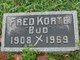 "Profile photo:  Fred H ""Bud"" Korte, Jr"