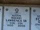 Profile photo: Col Austin Rogers Lawrence, Sr