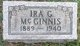 Ira G. McGinnis