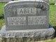 "Mary Bell Elizabeth ""Lizzie"" <I>Millay</I> Abel"