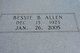 Bessie B. Allen