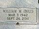 """William Martin """"Bill"""" Chambers"""