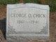George O Chick