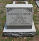Christine G. <I>Taylor</I> Haislip
