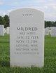 """Mildred J. """"Milly"""" <I>Schimtz</I> Ellis"""