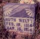 Profile photo:  Ruth Welty