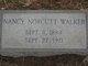 "Nancy Jane ""Nannie"" <I>Norcutt</I> Walker"
