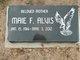 Maie F. <I>Raught</I> Alvis