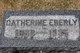 Catherine <I>Hickok</I> Eberly