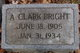 Allen Clark Bright