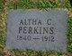 Altha C Perkins