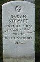 Sarah <I>Stewart</I> Folger