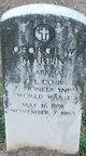 Corp George W Martin