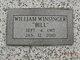 """William J. """"Bill"""" Winsinger"""