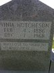 "Lavinia ""Vinia"" <I>Harris</I> Hutcheson"