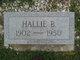 Hallie B. <I>Yokem</I> Nichols