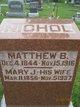 Matthew B Nichol
