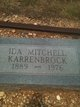 Ida <I>Mitchell</I> Karrenbrock