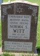 Norma S. <I>Brodie</I> Witt