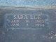 Sara Lee Farrar
