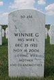 Winnie G Cole