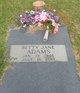 Betty Jane <I>Hatcher</I> Adams