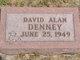 Profile photo:  David Alan Denney