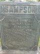 Mary A. <I>Wagner</I> Sampson