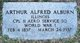 Profile photo: Corp Arthur Alfred Alburn