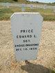SGT Edward L Price